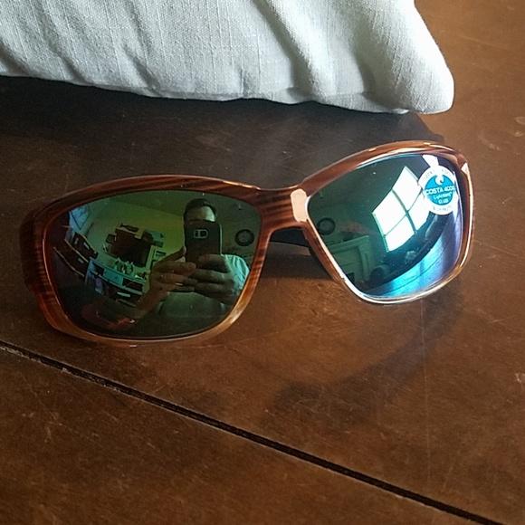 9e1c1ca8ab0f Costa Accessories   Del Mar Luke Sunglasses Wood Green Mirror   Poshmark